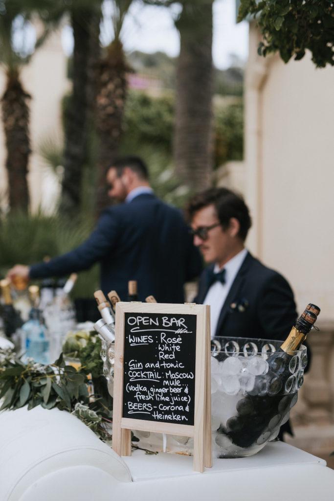 Professional wedding bar in France